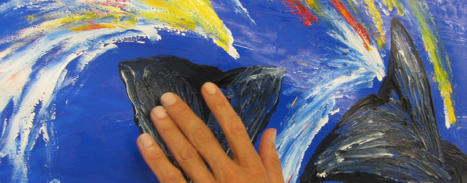 Maltherapie – dem Leben wieder Farbe geben