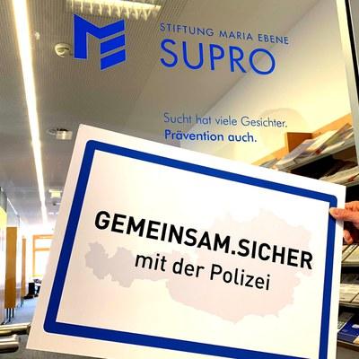 SUPRO und POLIZEI arbeiten zusammen